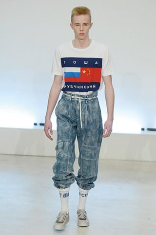 Gosha Rubchinskiy - Mens Fall 2015 Runway - Paris Menswear Fashion Week