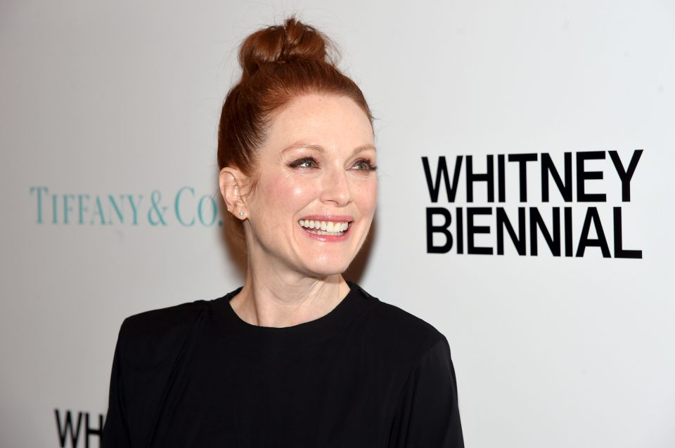 NEW YORK, NY - MARCH 15: Actor Julianne Moore attends the Tiffany & Co. X Whitney Biennial at The Whitney Museum of American Art on March 15, 2017 in New York City. (Photo by Jamie McCarthy/Getty Images for Tiffany & Co)