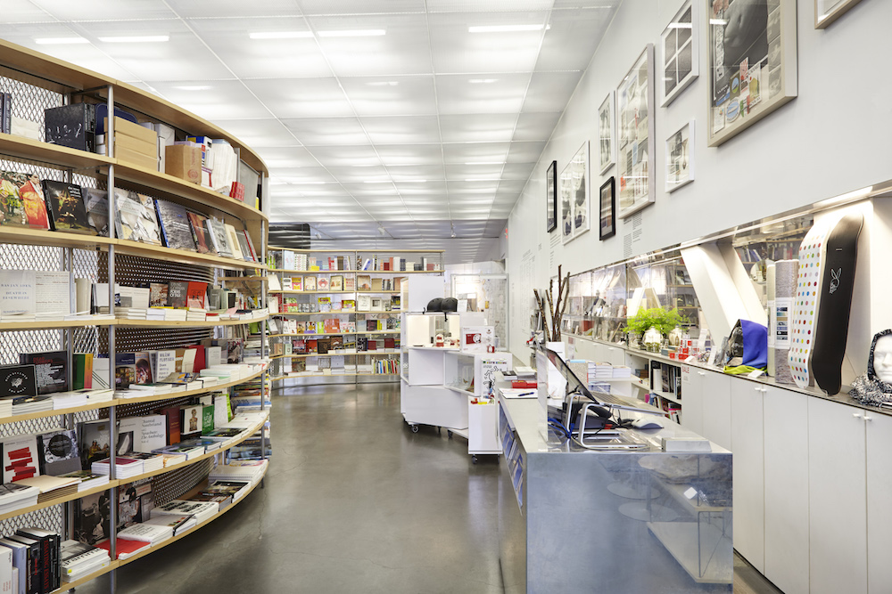 New Museum, bookstore, NYC, Benoit Pailley