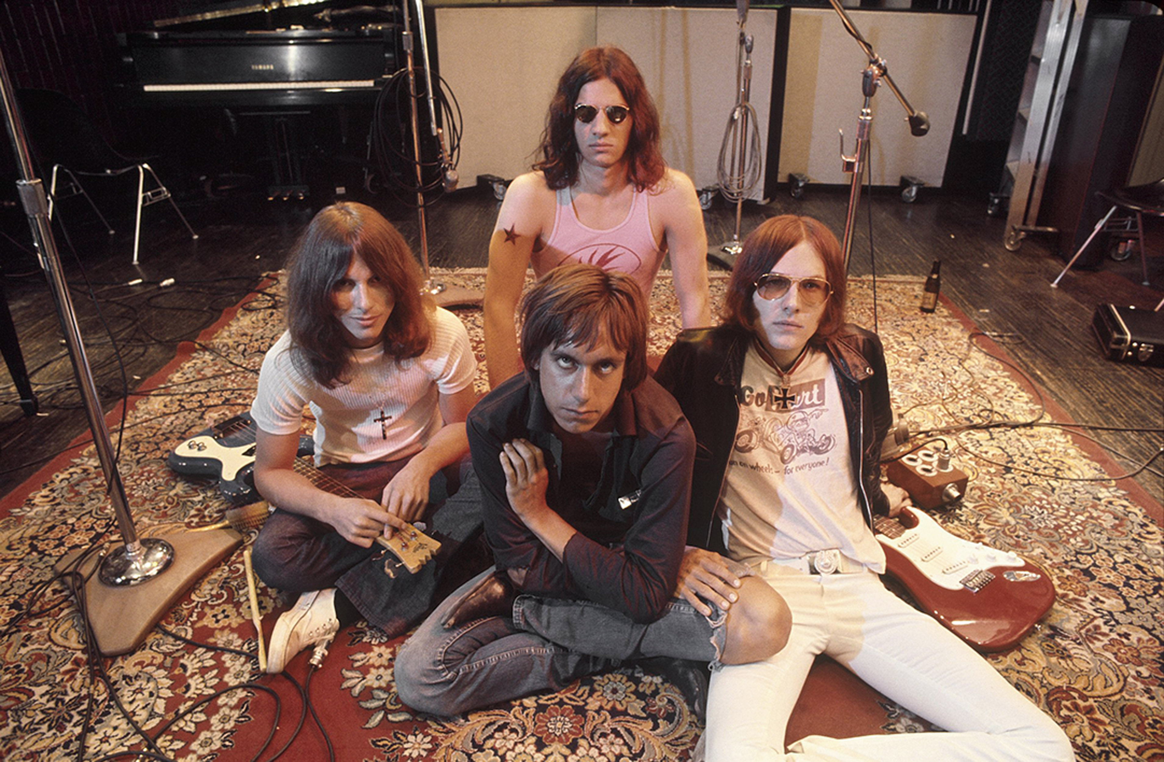 The Stooges In the Studio