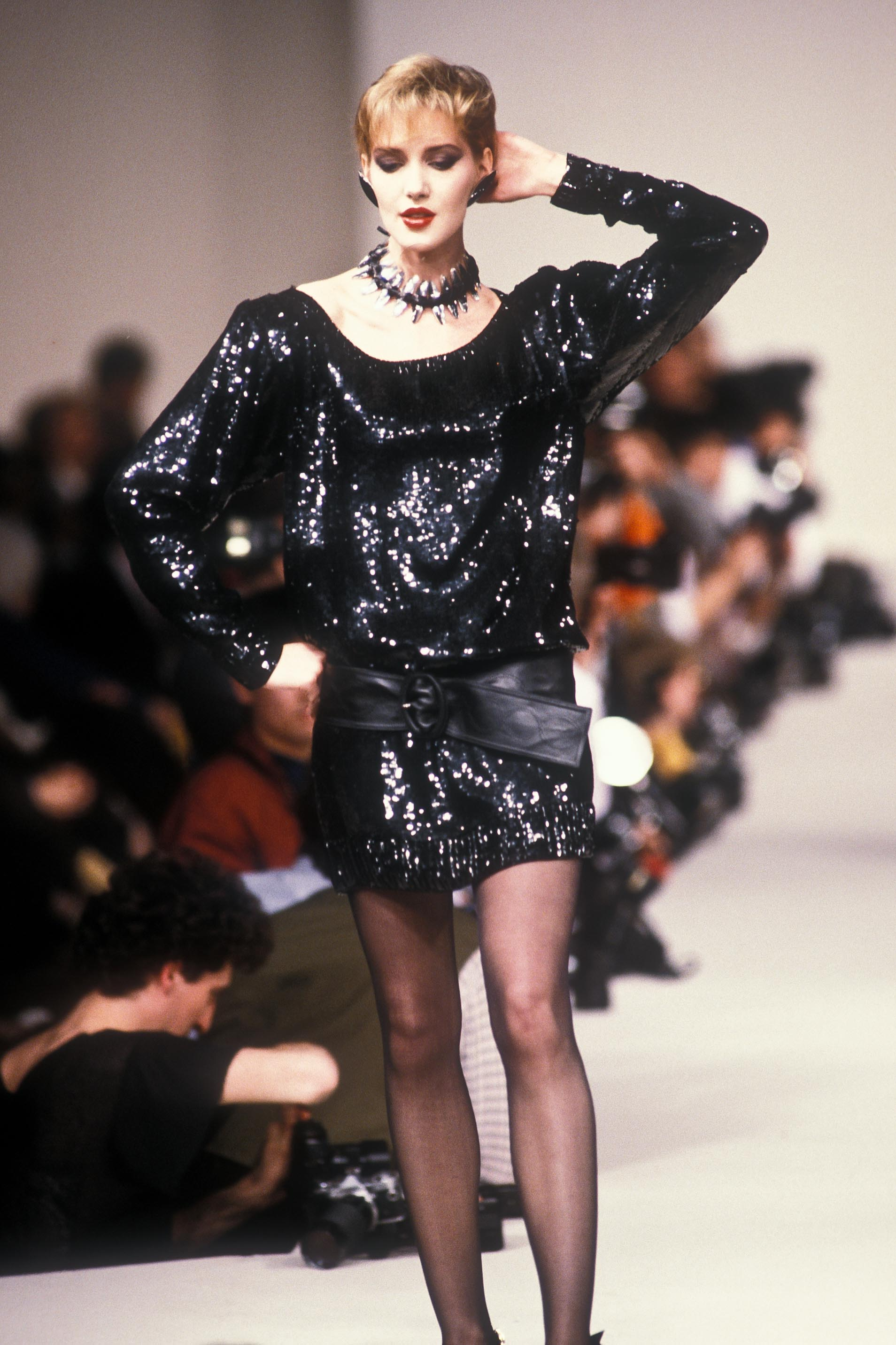 Yves Saint Laurent Autumn/Winter 1985-86 - Paris Collection - Woman, Runway