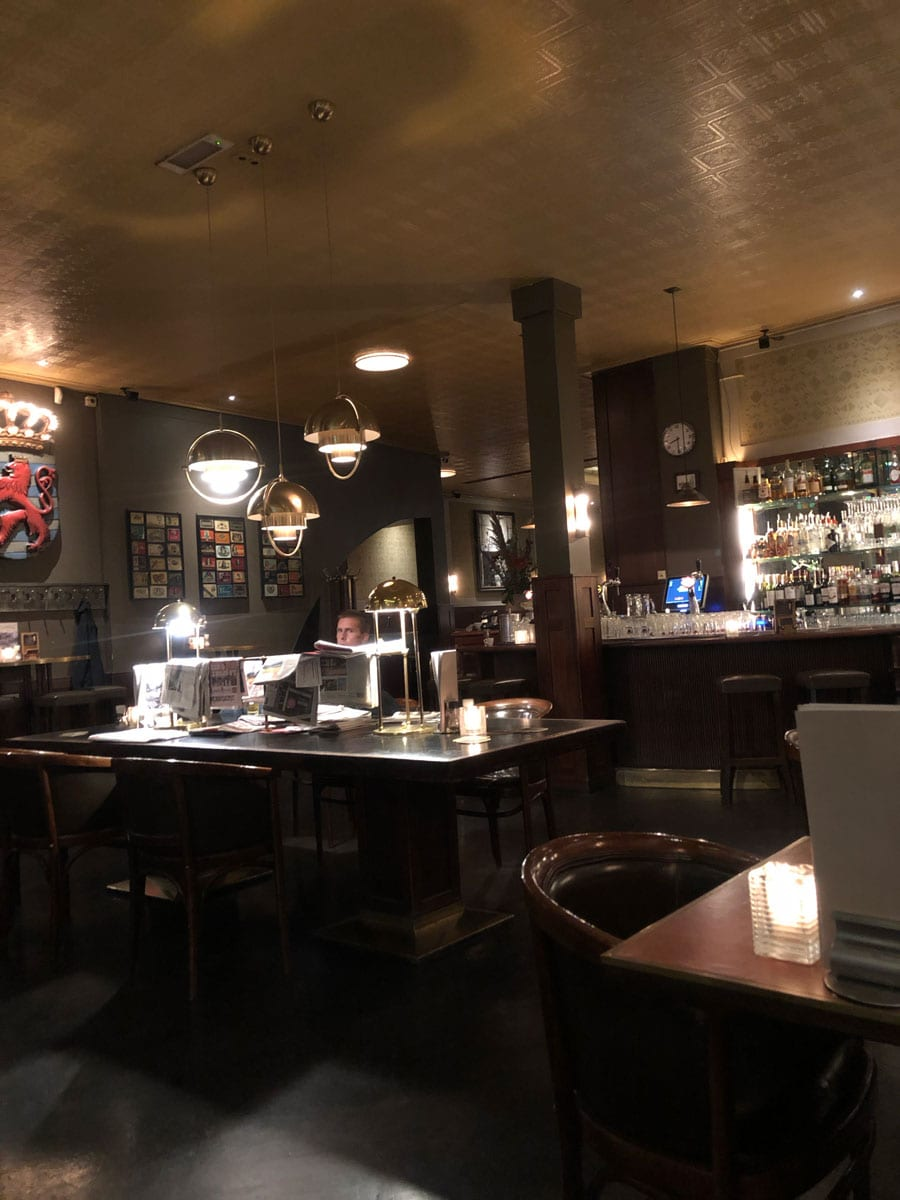 cafe Luxembourgの店内