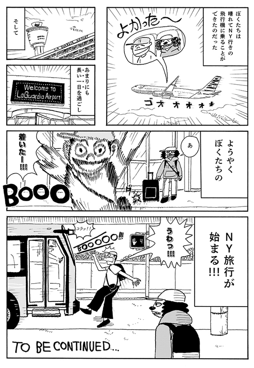 LITTLE TRIP TO NEW YORK